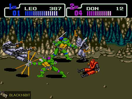 忍者龜 TMNT - Return of the Shredder 017