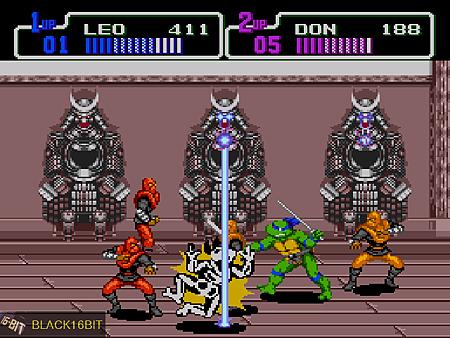 忍者龜 TMNT - Return of the Shredder 022