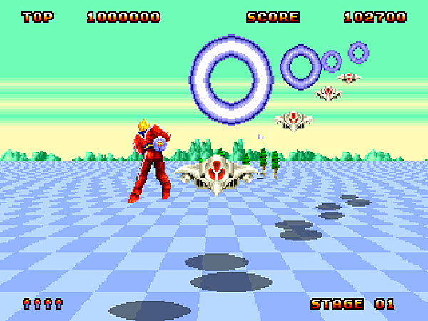 Space Harrier II (J) [!]009