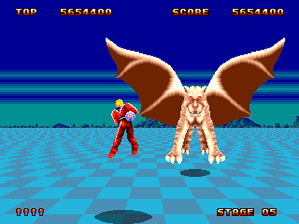 Space Harrier II (J) [!]035