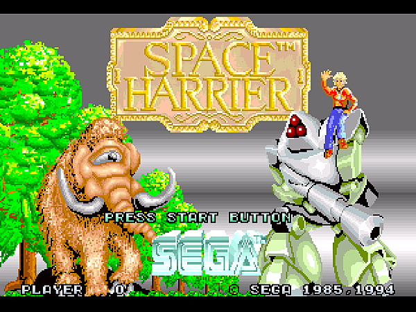 Space Harrier (32X) (JU) [!]007