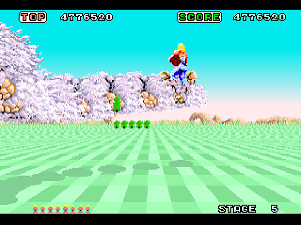 Space Harrier (32X) (JU) [!]028
