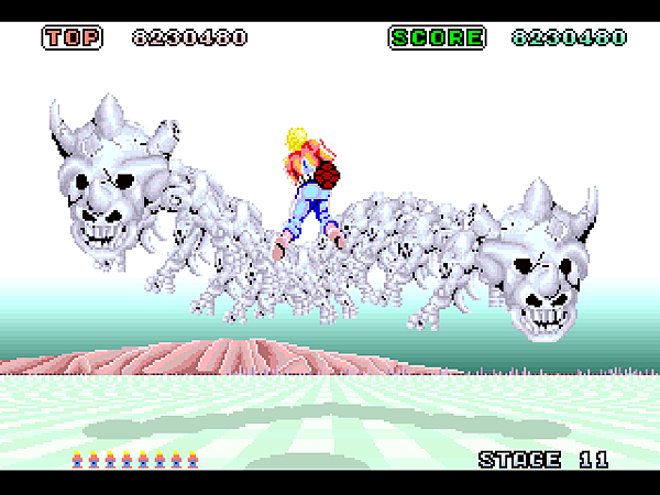 Space Harrier (32X) (JU) [!]046