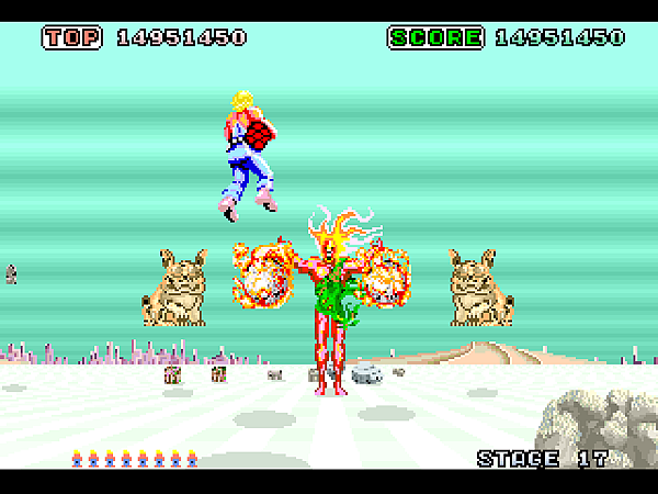 Space Harrier (32X) (JU) [!]068