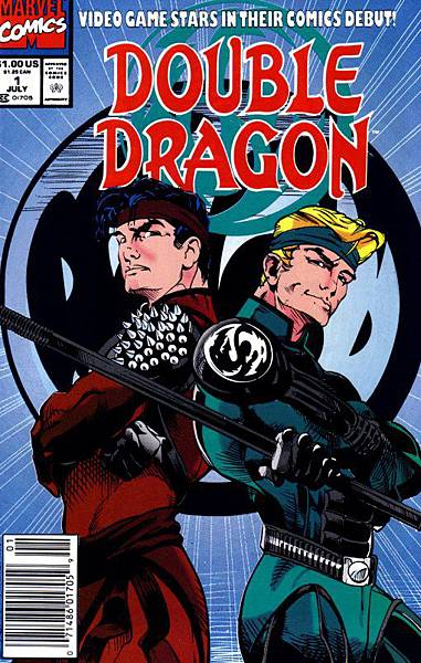 double dragon Marvel comics cover July 1