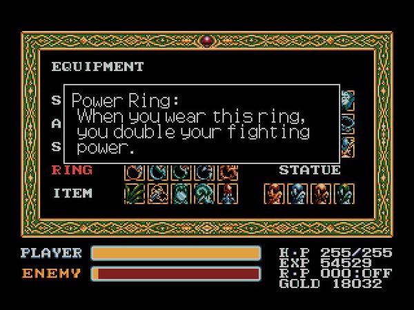K(Adol 每一次戴上 Power Ring 都能提昇 1 倍攻擊力,直至該次 Ring Power 耗盡。).png