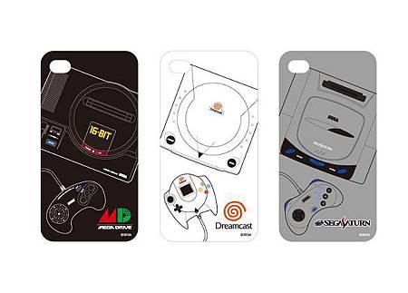 SEGA 主機系列 iPhone4 保護殼三機種.jpg