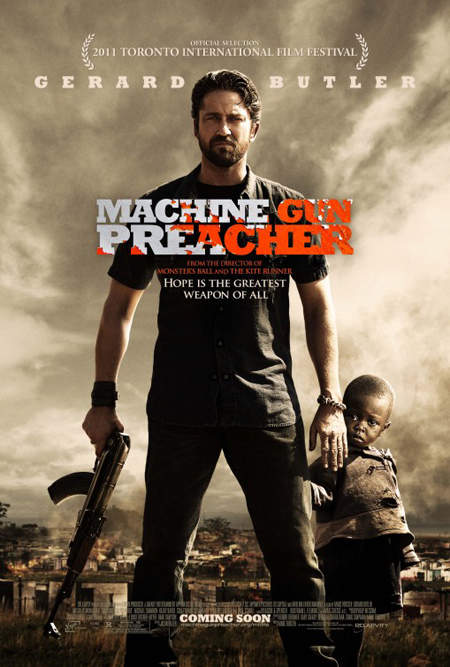 The machine gun preacher