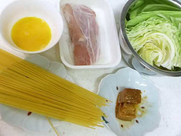 豆腐乳義大利麵材料