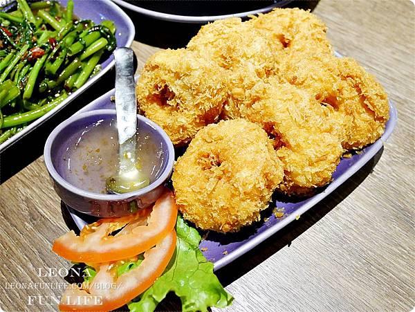 金錢蝦餅 台中泰式料理 中友百貨美食 最佳泰國料理餐廳 nara thai cuisine台中泰式料理推薦.JPG