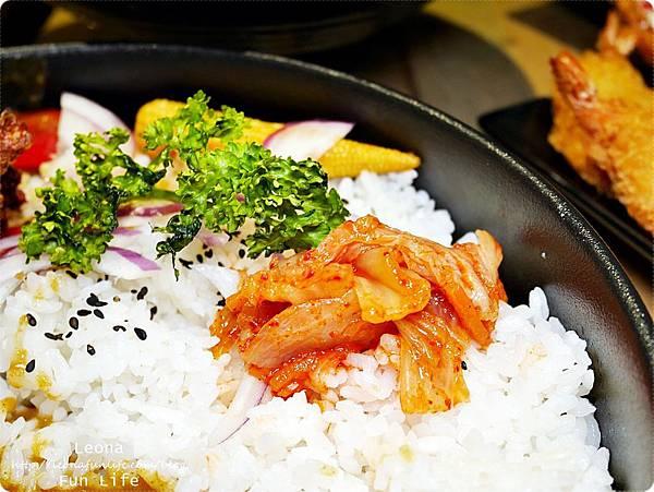員林美食 饗料理 咖哩雞腿排飯