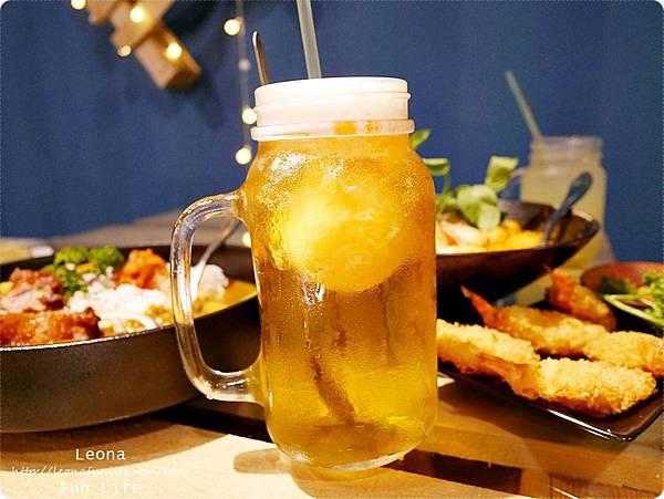饗料理 員林南洋風味料理 芒果冰淇淋冰茶