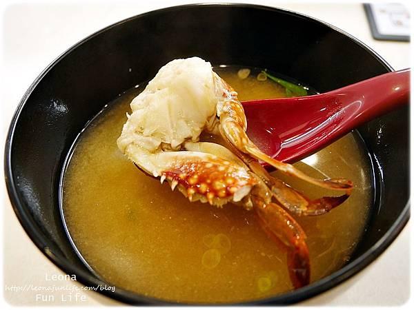 hama壽司大里蟹肉味增湯