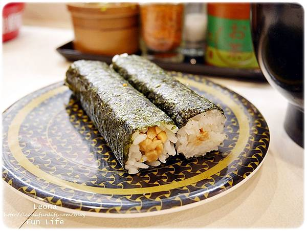 大里迴轉壽司  hama壽司納豆壽司