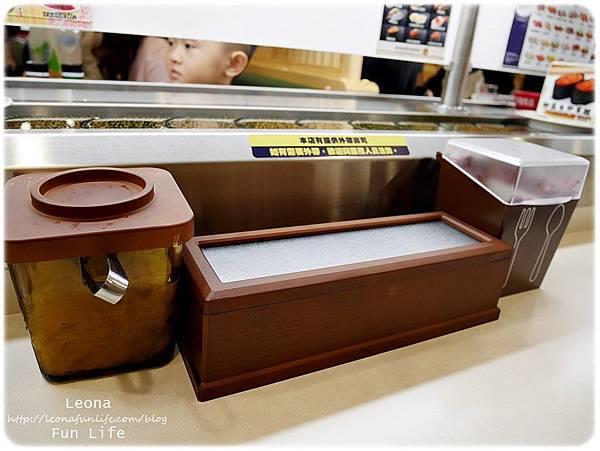 大里迴轉壽司  hama壽司餐具1