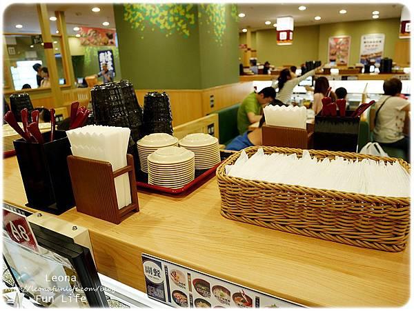 大里迴轉壽司  hama壽司餐具2
