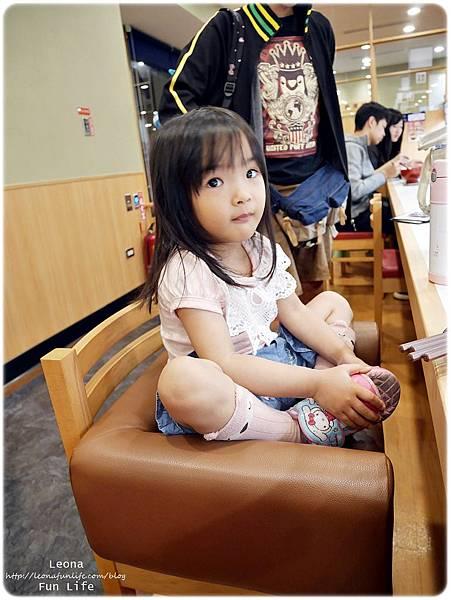 大里迴轉壽司  hama壽司兒童座椅