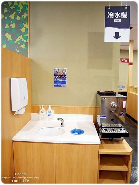 軟體園區hama壽司 洗手台