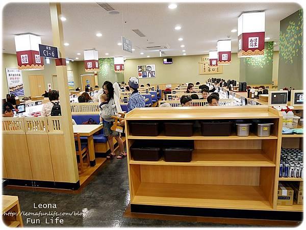 軟體園區hama壽司用餐環境