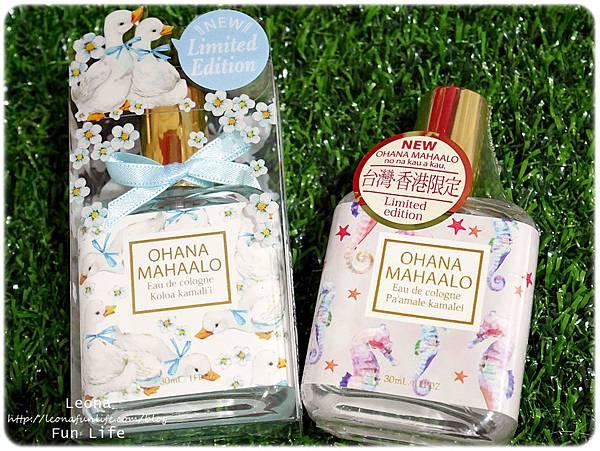 五月新品|OHANA MAHAALO 伊比鴨鴨輕香水