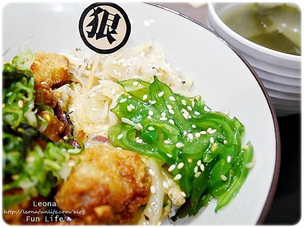 太平美食狠牛丼飯專賣店-唐揚炸雞丼飯配菜