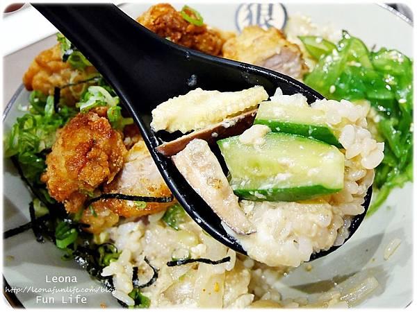 丼飯+蔬菜