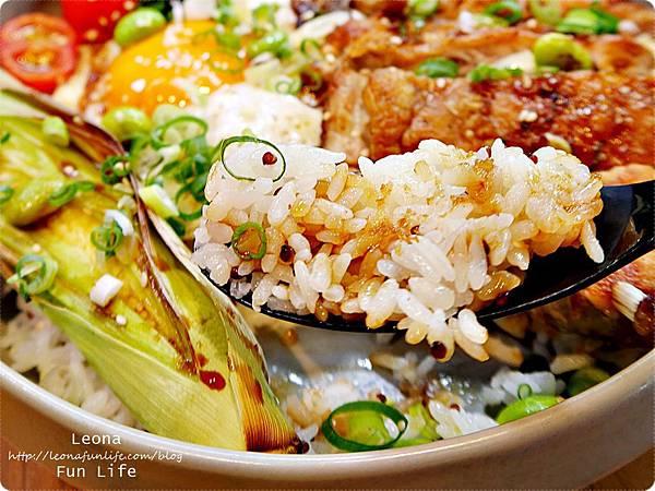 台中健康餐廳Bistro88 Light新菜紅藜麥飯