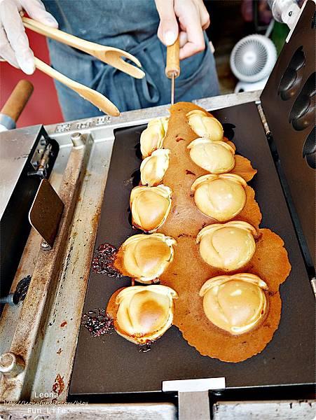 桃子造型雞蛋糕