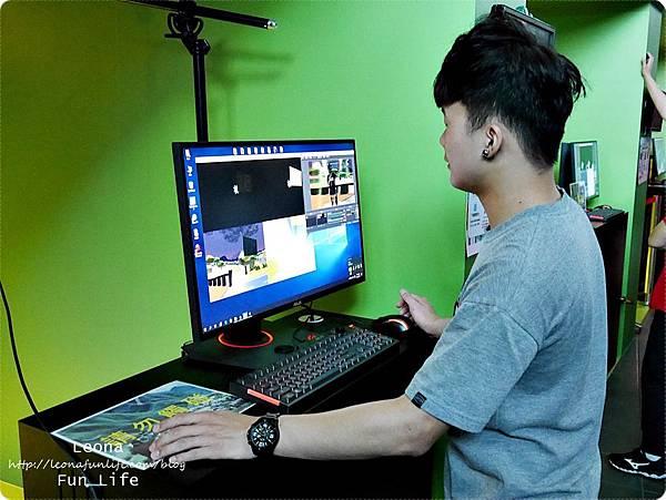 土保持虛擬實境體驗館土石流守護戰記VR闖關遊戲1