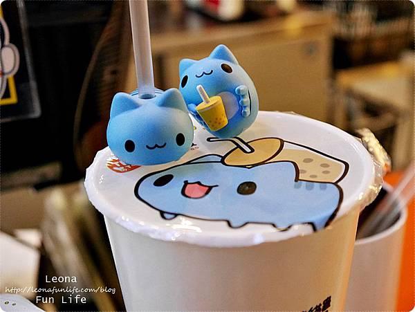 茶二指故事館台灣第一味珍奶