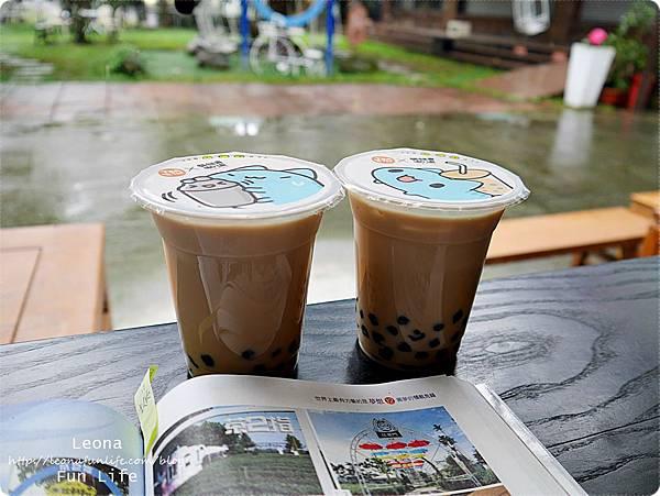 茶二指故事館台灣第一味珍奶2