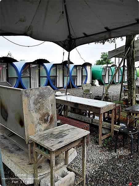 茶二指 春秋茶室水管屋烤肉區