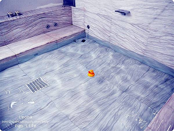 台中住宿|極光情境旅館-傳說系列火努魯魯室外浴池1