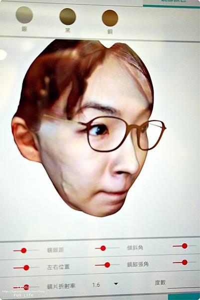 BRAGi客製化專屬眼鏡客製化眼鏡3D掃描眼鏡眼鏡品牌推薦精品眼鏡品牌客製化眼鏡品牌BRAGi眼鏡 DSC02118