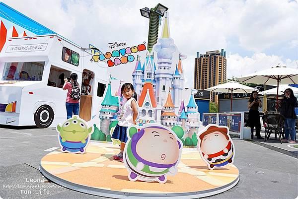 台中期間限定玩具總動員 草悟道 暑期活動免費DSC02295.JPG