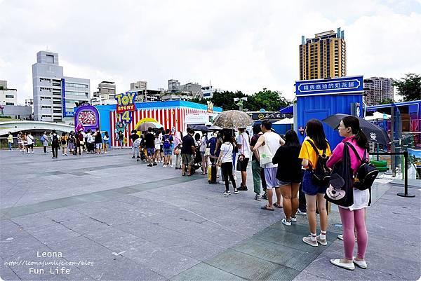 台中期間限定玩具總動員 草悟道 暑期活動免費DSC02303.JPG
