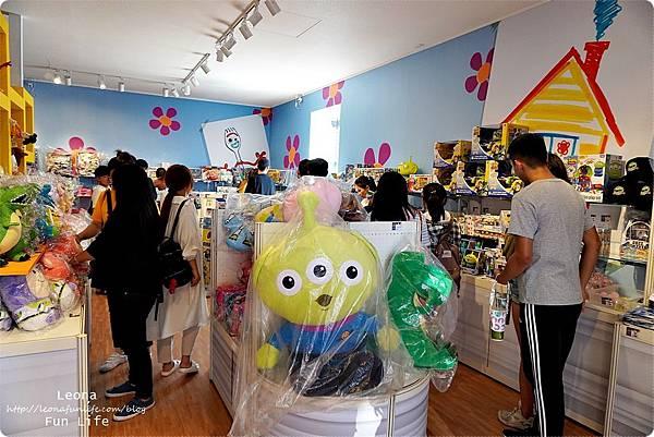 台中期間限定玩具總動員 草悟道 暑期活動免費DSC02326.JPG