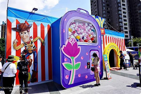 台中期間限定玩具總動員 草悟道 暑期活動免費DSC02327.JPG