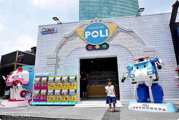 台中期間限定 救援小英雄波力Robocar Poli 草悟道 暑期活動免費DSC02267