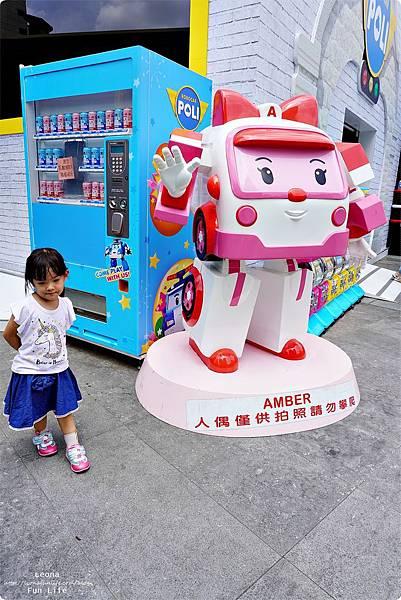 台中期間限定 救援小英雄波力Robocar Poli 草悟道 暑期活動免費DSC02272