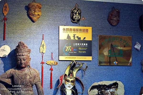 苗栗三義親子景點山板樵休閒農場 做蛋捲 看國劇臉譜館DSC01334.JPG