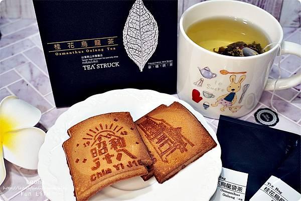 TEA Struck台灣精品茶禮桂花烏龍茶 冷泡茶 長順名茶DSC04857