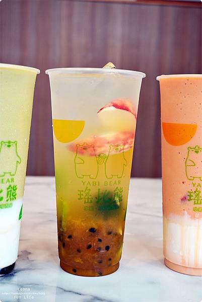 嘉義飲料瑤比熊嘉義果汁飲品美食 新鮮果汁 漸層飲料DSC02998
