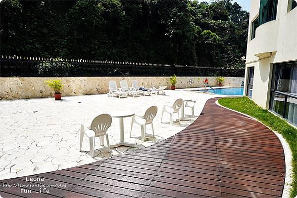 澳門平價住宿 盛世酒店 交通方便 寬敞舒適、還有泳池 讓度假更加享受 機場DSC06799.JPG