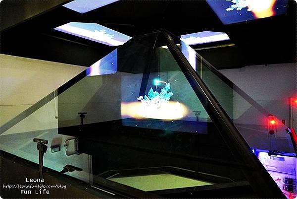 喜晶a光學觀光工廠 台中觀光工廠 台中室內親子景點 雨天備案 潭子親子景點 恐龍 布袋戲 射擊遊戲DSC08531