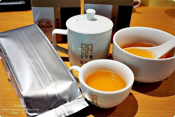 HOHOCHA喝喝茶 台灣香日月潭紅茶廠 南投親子 長輩旅遊景點 黃金品茗 混茶體驗 Pizza DIYDSC09433