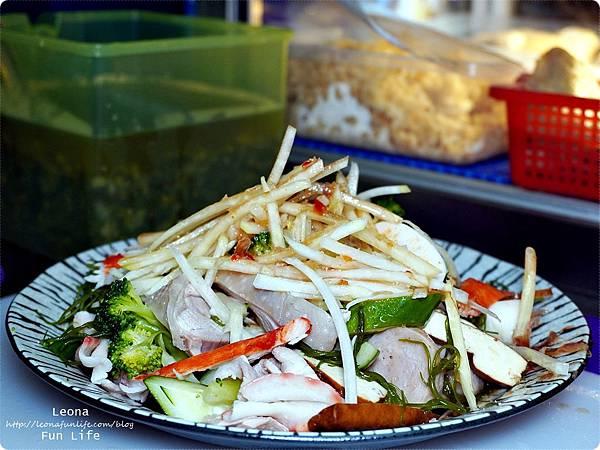 小琉球必吃 鮮鹽堂泰式鹽水雞  鮮鹽堂鹽水料理總匯 小琉球美食 鹽水雞加盟 小琉球鹽水雞 小琉球消夜DSC03270