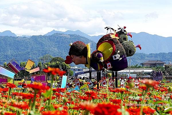 2020新社花海 台中國際花毯節-活動、交通資訊、住宿優惠,愛麗絲的花境探險&10米高紅心皇后2020愛你愛妳DSC05105.JPG