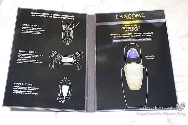 臉部保養讓女孩們為之瘋狂的小黑瓶-Lancôme蘭蔻進化肌因活性安瓶(小黑安瓶)+超未來肌因賦活露(小黑瓶)1DSC05370.JPG
