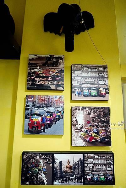 台中捷運美食 文新崇德站 泰小葉菜單 泰式料理  泰式料理台中 平價泰式料理 泰式料理cp值 內用限定 涼拌酸辣蛤蠣 辣醬香腸DSC07014.JPG